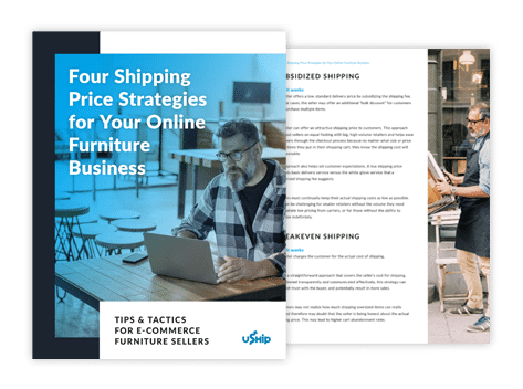 Four Shipping Price Strategies for Your Online Furniture Business